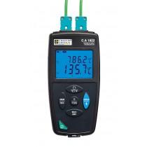 C.A 1822 Thermometer 2 kanalen thermoelem. KJTENRS